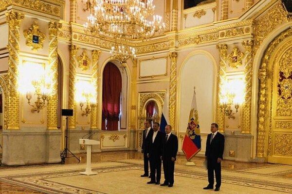 İran Büyükelçisi Celali, Putin'e güven mektubu sundu