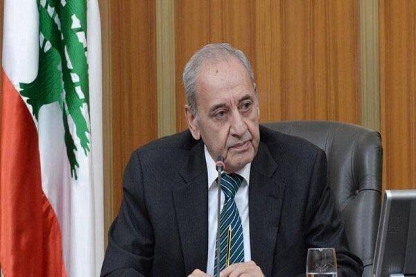 Lebanon's Berri congratulates Islamic Revolution anniv. to Iran's senior officials