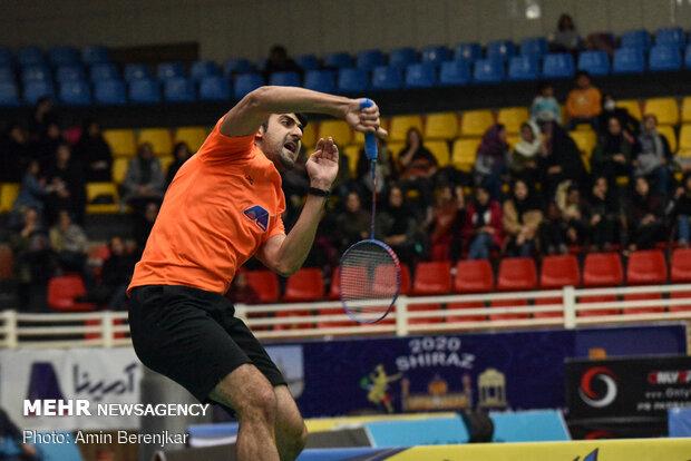 اختتام بطولة كأس فجر الدولي لمبارات كرة الريشة في شيراز