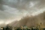 طوفان به سرعت ۸۰ کیلومتر در ساعت یزد را درنوردید