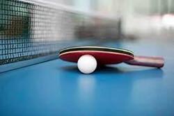 حضور تیم ملی تنیس روی میز در مسابقات جهانی بدون اردو