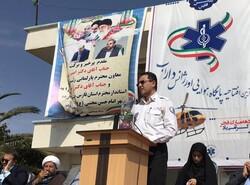 پنجمین پایگاه هوایی اورژانس فارس در داراب افتتاح شد