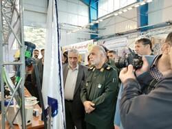 برپایی نمایشگاه دستاوردهای انقلاب و محصولات اقتصاد مقاومتی در کرمانشاه