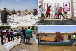 دوگانه «سیل» و «تنش آبی» در خوزستان/ شهر در انتظار «صف دبهها» یا «ردیف گونیها»؟