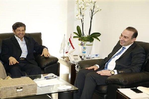 وزير الثقافة اللبناني يبحث مع خامه يار العلاقات الثنائية بين ايران ولبنان