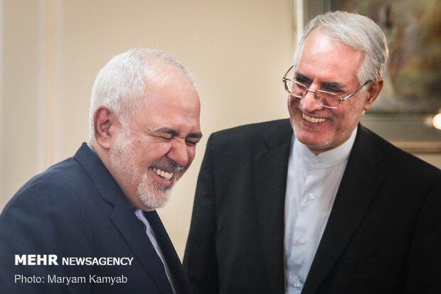 دیدار نماینده سازمان ملل در امور سوریه با وزیر امور خارجه