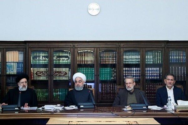 عَقد إجتماع المجلس الاعلى للتنسيق الاقتصادي في ايران