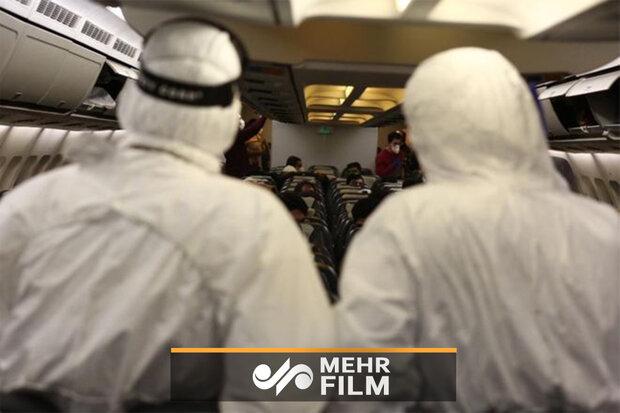 فیلمی از محل قرنطینه دانشجویان ووهان در ایران