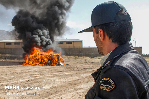 بیسابقهترین حجم کشف مواد مخدر در دنیا توسط ایران