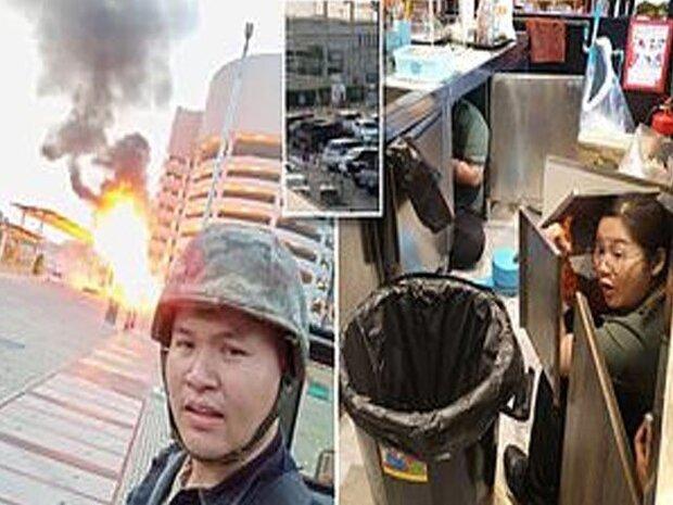 تھائی لینڈ میں ایک اہلکار نے فائرنگ کرکے 17 افراد کو ہلاک کردیا