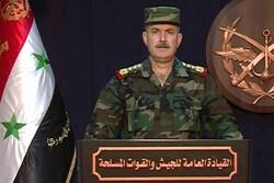 الدفاعات السورية تتصدى لأهداف معادية فوق دمشق