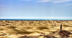 German sightseers visiting Iran's Sistan-Baluchestan province