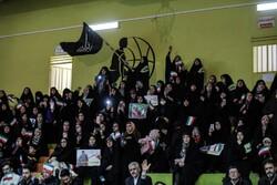 صوبہ زنجان میں  انقلابی جوانوں کا اجتماع