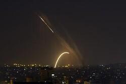 حمله راکتی به یک شهرک صهیونیستی در فلسطین اشغالی
