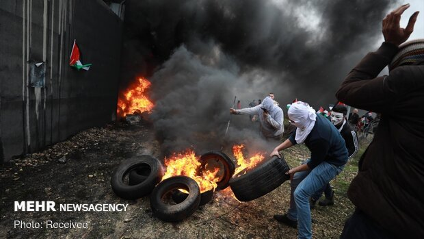 ادامه اعتراضات به معامله قرن در کرانه باختری