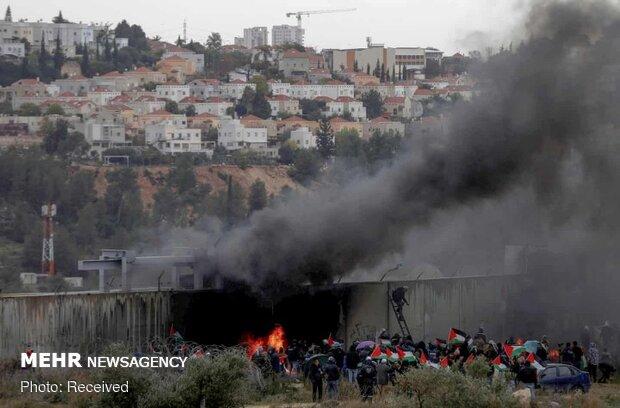 """إستمرار الإحتجاجات في الضفة الغربية على """"صفقة القرن"""""""