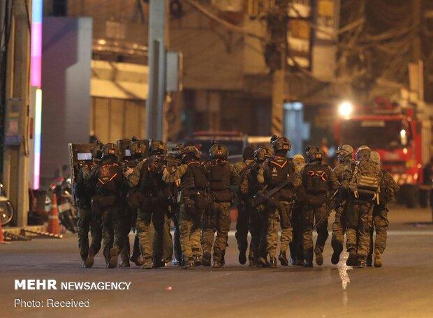 Tayland'daki saldırıdan fotoğraflar