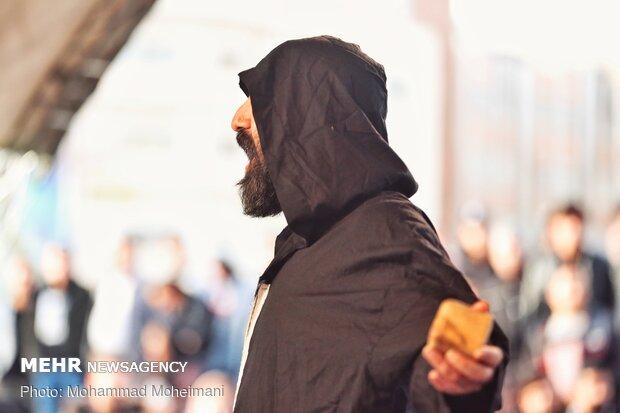 Street performances of 38th Fajr Theater Festival