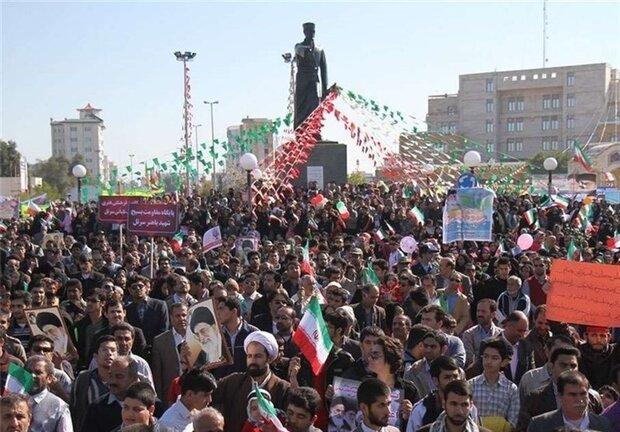 مسیرهای راهپیمای ۲۲ بهمن در استان بوشهر اعلام شد