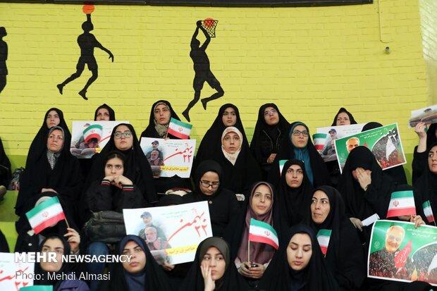 گردهمایی جوانان انقلابی استان زنجان «خیزش سلیمانیها»