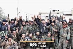 تسلط روز افزون ارتش سوریه به مناطق اشغالی