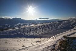 الطبيعة الثلجية الخلابة لمدينة بجنورد/صور