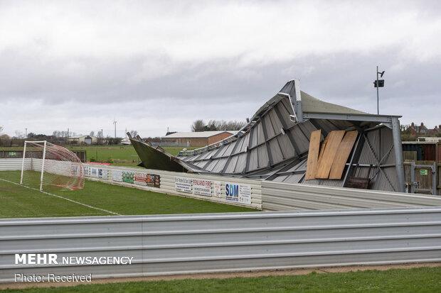 سیل و طوفان در انگلیس