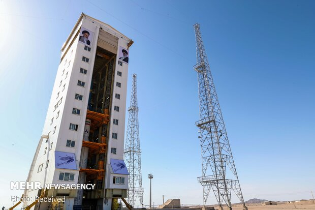 Launching Zafar with Simorgh satellite carrier
