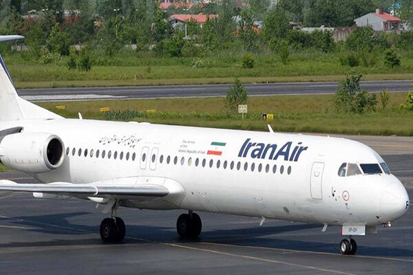 Iran Air's third flight to bring home Iranian passengers from Doha