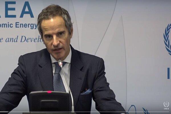 غروسي يعقد مؤتمراً صحفياً حول البرنامج النووي الايراني