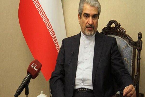 Iran not to alter stance towards Syria: envoy