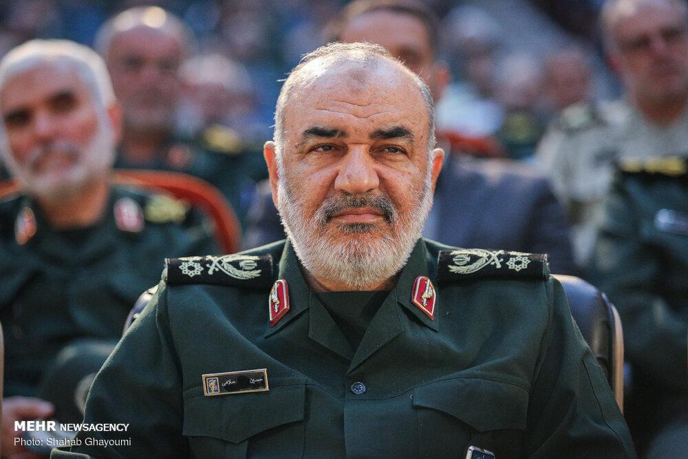 سرلشکر سلامی کسب مدال طلای جواد فروغی را تبریک گفت