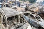 شبه نظامیان در نیجریه مردم را سوزاندند