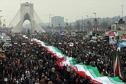 مسيرات ضخمة تجوب إيران بمناسبة الذكرى ال41 لانتصار الثورة الإسلامية