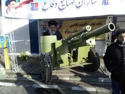 معرض للصواريخ الدقيقة والقنابل الذكية ضمن فعاليات مسيرات ذكرى انتصار الثورة الإسلامية