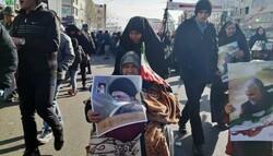 تصاویر ارسالی «مخاطبان مهر» از راهپیمایی ۲۲ بهمن