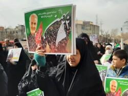 حاشیههای راهپیمایی ۲۲ بهمن در استان تهران