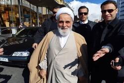 ناطق نوری در راهپیمایی یوم الله ۲۲ بهمن حضور یافت