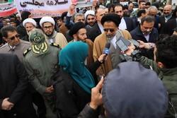 حضور مردم در راهپیمایی ۲۲ بهمن توهمات دشمن را نقش برآب کرد