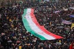ہمدان میں 22 بہمن کی مناسبت سے عظيم الشان ریلی