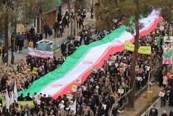 إحتشاد أبناء محافظة سمنان بمناسبة ذكرى انتصار الثورة