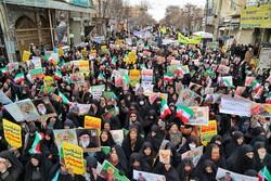 مسيرات 22 بهمن في شوارع مدينة زنجان/صور