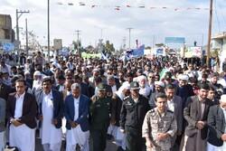 راهپیمایی باشکوه ۲۲بهمن - شهرستان مهرستان