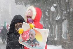 Tebriz halkı İslam Devrimi ile dayanışmalarını yineledi