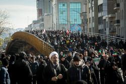 تہران میں 22 بہمن کی مناسبت سے عظيم الشان ریلی کا اہتمام