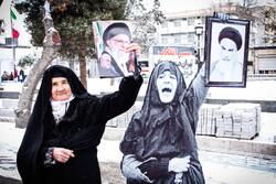 راهپیمایی باشکوه ۲۲بهمن - قزوین