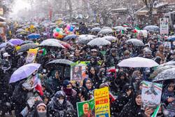 ارومیہ  میں انقلاب اسلامی کی سالگرہ کی مناسبت سے عظيم الشان ریلی