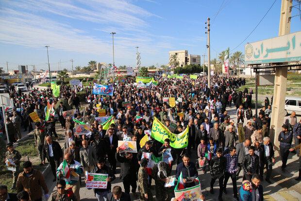 راهپیمایی ۲۲ بهمن مظهر اقتدار و عزم ملی است