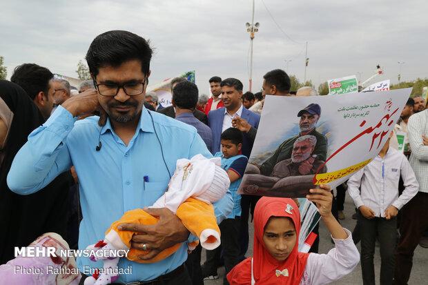 مسيرة 22 بهمن في مدينة بندر عباس