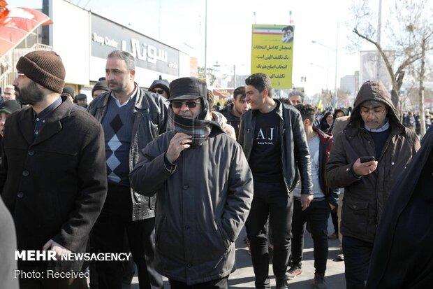حضور مسئولین و شخصیت ها در راهپیمایی ۲۲بهمن